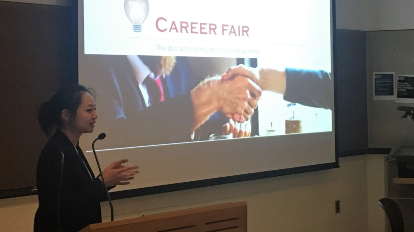 Making the most out of career fairs – LSCDS 2018